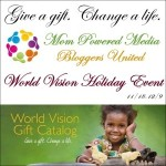 Blogger Sign Up : World Vision Holiday Event