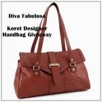 Blogger Sign Up : Koret Designer Handbag Giveaway