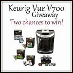 Free Blogger Event : Keurig Vue V700 Givewaway