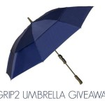 Enter : GRIP2 Umbrella Giveaway