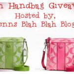 Enter : Double Coach Handbag Giveaway