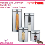 Enter : Steel Clear-View Food Storage Canister Giveaway
