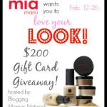 Enter : Mía Mariú $200 Gift Card Giveaway #MiaMariuLOVE
