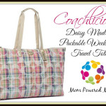 Enter : Coach Daisy Madras Packable Weekender Tote Giveaway