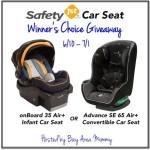Enter : Safety 1st Car Seat Giveaway