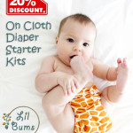 Enter : The Lil Bums Cloth Diaper Giveaway