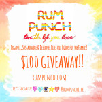 Enter : $100 Rum Punch Gift Card Sweepstakes
