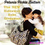 Enter : Petunia Pickle Bottom Hobo Diaper Bag Giveaway