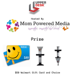 Enter : Upper Desk Tablet Mount and $50 Walmart GC Giveaway