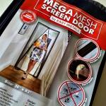 Mega Mesh Premium Magnetic Screen Door Review #magneticscreendoor