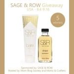 Enter : Sage & Row Products Giveaway  (5Winners)