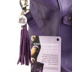End Domestic Violence Take Part in The Purple Purse Challenge #PurplePurse