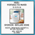 Enter : BrylaneHome® Portable Ice Maker Giveaway