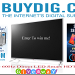 Enter : BuyDig 42″ LG Smart TV Giveaway