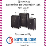 Enter : American Tourister Duralite 360 Hardside 3 Piece Nested Set Giveaway