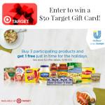 Enter : $50 Target Gift Card