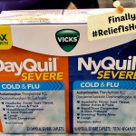 Finally #ReliefIsHere with Vicks DayQuil and NyQuil Severe