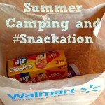 Summer Camping and #Snackation