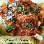 Tuna & Spinach Penne #HomestyleSauces