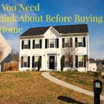 What You Need To Think About Before Buying New Home
