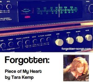 Forgotten: Piece of My Heart by Tara Kemp