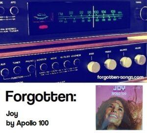 Forgotten: Joy by Apollo 100