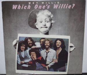 Album cover of Which One's Willie? by Wet Willie.