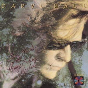Album cover of Daryl Hall's Three Hearts in the Happy Ending Machine.