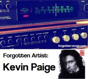 Forgotten Artist: Kevin Paige