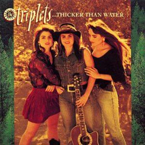 Album cover of Thicker Than Water by The Triplets.