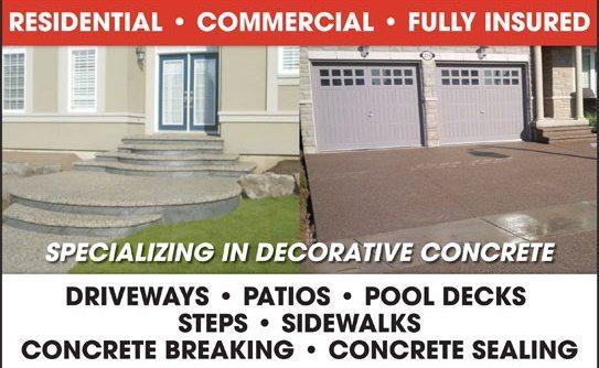 concrete services Oceanview Concrete