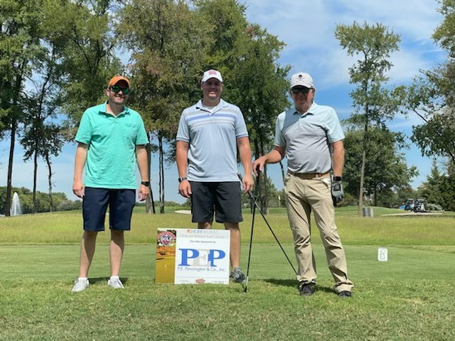 PEPCO Sponsor of The Hope Works Golf Tournament at TPC Craigs Ranch in McKinney TX