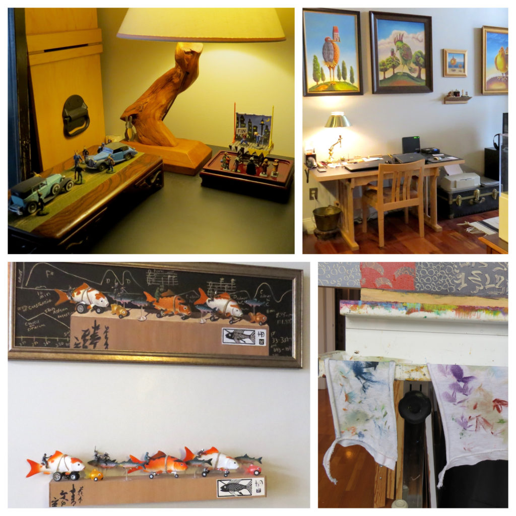 Nicki's Central West End Guide Art & Architecture Shop News  Wendy Wees Seattle Milo Duke Linda Horsley Kogedo Gallery Horsley Arts Central West End 54th St. Atelier