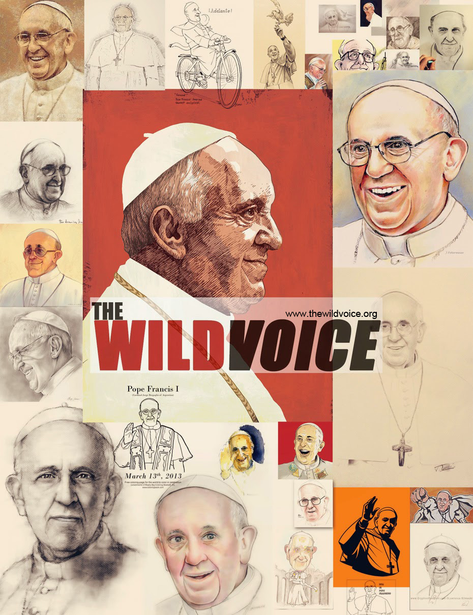 pope francis at the wild voice