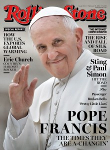 Rolling Stone cover of Pope Francis