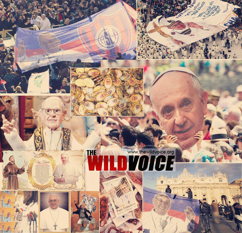 pope francis superstar mania