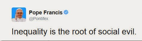 pope on twitter