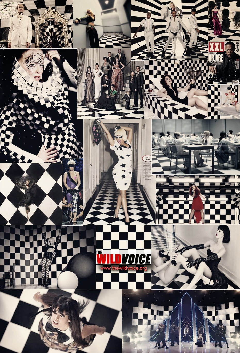 mason black and white checkerboard entertainment