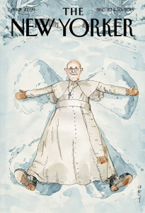 Pope Francis angel
