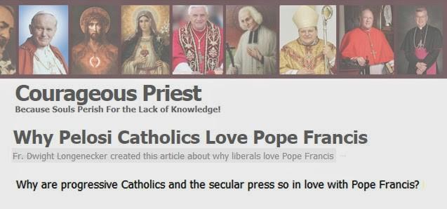 pope francis secular world