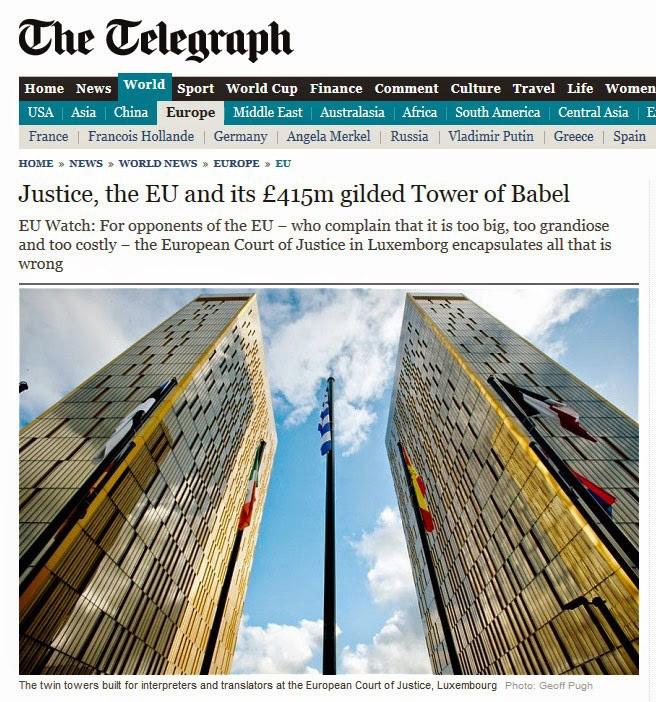 the wild voice - eu - the telegraph - babel
