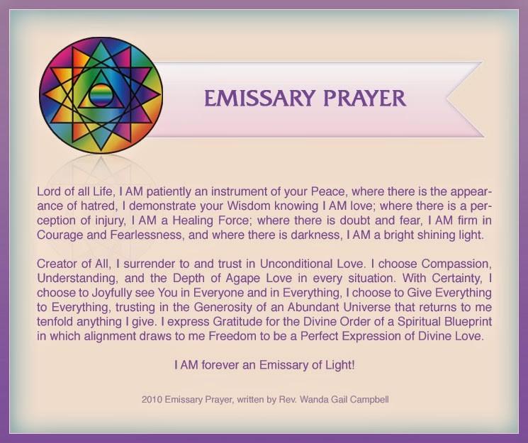 one world religion prayer