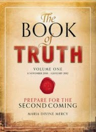 The Book of Truth cover, Maria Divine Mercy