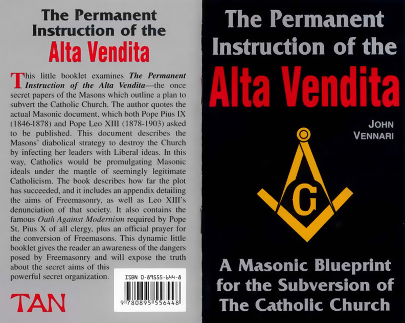 Alta, Vendita, Freemasons, Masonic, False, Prophet, Illuminati