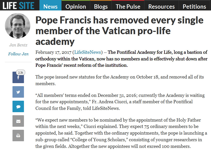 francis fulfilled prophecy
