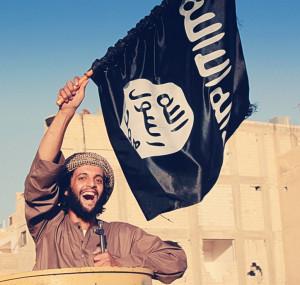ISIS, flag, persecutions, crow, darkness, black, evil, satan, horus, osiris, Babylon, Christ, Antichrist