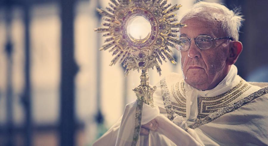 Pope Francis, Cardinal Robert Sarah, Eucharist, MARIA DIVINE MERCY, Maria, Divine, Mercy, THE WILD VOICE, FALSE PROPHET