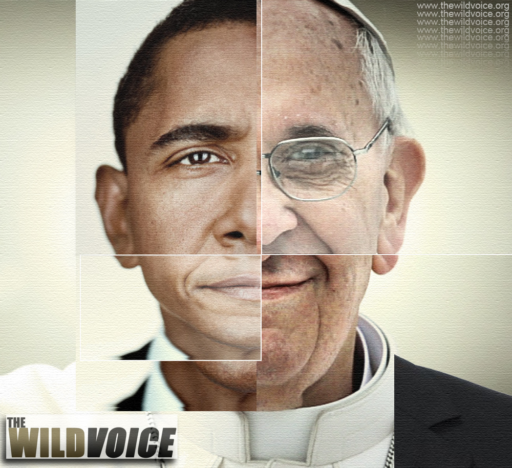 Barack Obama, Pope Francis, False Prophet, Maria Divine Mercy, The WILD VOICE, President, USA, America, NWO, New World Order, Jorge Mario Bergoglio