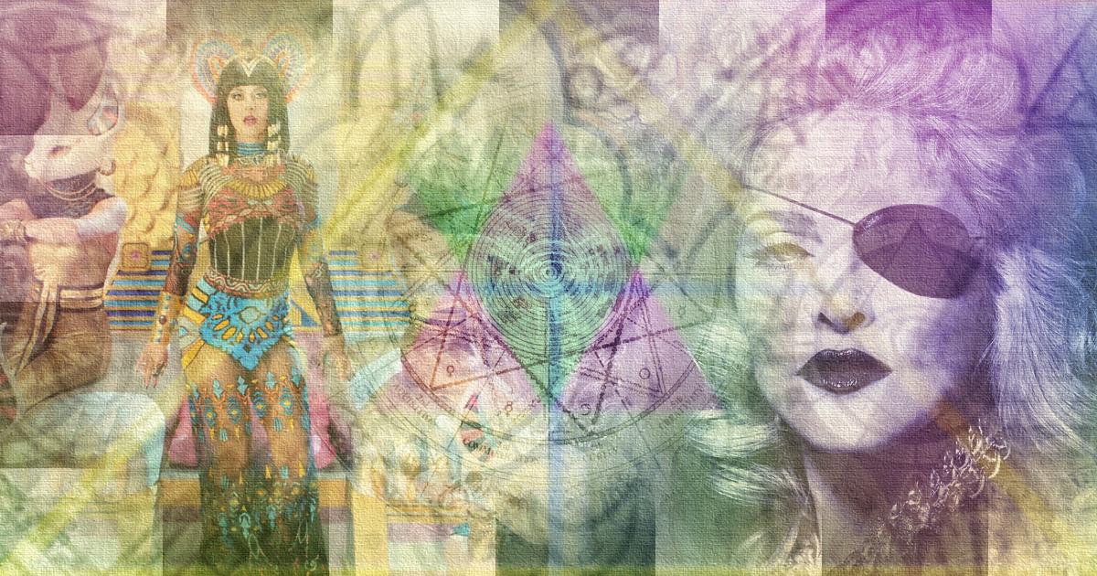 madonna, katy perry, the wild voice, symbols
