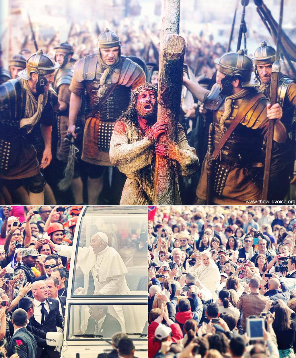 Jesus, Christ, Passion, False, Prophet, Pope, Francis, Jorge Mario Bergoglio, The Wild Voice, Maria Divine Mercy, God, Catholic, Church, schism, satan